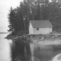 Image of 1373 - Boathouse, Lake Lavieille