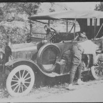 Image of 1417 - Automobile - used to drive to Scotia Junction on visits to Algonquin Park