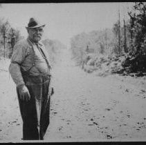 Image of ca. 1935 - Campbell - Hwy. 60 construction foreman (near Smoke Lake)
