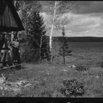 Image of 1973.3.1 - Building on old Denison Farm, Lake Opeongo.