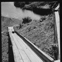Image of 1473 - Baggage Chute - Canoe Lake Station