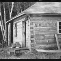 Image of 1976.20.3 - Ranger cabin - Eagle Lake (Ralph Bice Lake).
