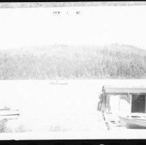 Image of 1936 - Boathouse in part of leased cabin.