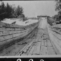 Image of 1976.42.4 - Flume just beyond western end of Cedar Lake.