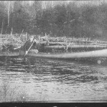 Image of 1749 - Canoe on Mink Creek.