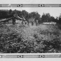 Image of 1766 - Logging camp at Head Lake.