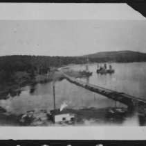 Image of 1782 - Looking east along railway from Highland Inn.