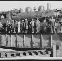 Image of 1794 - Railway engine turntable at Cache Lake.