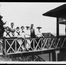 Image of 1819 - Cache Lake dance pavilion.