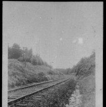 Image of 1823 - Railway track near Cache Lake.