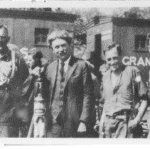 Image of 1922 - At Canoe Lake Station.