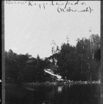 Image of 1864 - Below Ragged Rapids, North Branch, Muskoka River.
