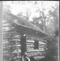 Image of 1865 - First (?) shelter hut.
