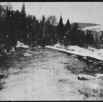 Image of 1885 - Rapids below dam.