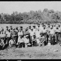 Image of 1895 - Drive Crew, Pembroke Lumber Co., Petawawa River.