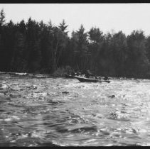 Image of 1943 - River Driving, Five Mile Rapids.