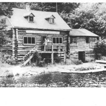 Image of 1936 - Portage Store (post card)