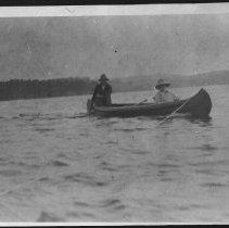 Image of 1967 - Canoe trip, Rock Lake.