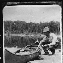 Image of 1999 - Fishing trip, Rock Lake area.
