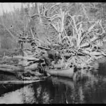 Image of ca. 1916 - Rock Lake trip.