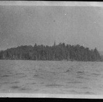 Image of 1916 - Island in Whitefish Lake.