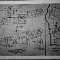 Image of 2043 - Plan of Highland Inn.