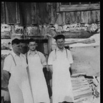 Image of 1935 - Cookery staff, Booth Lake.
