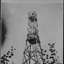 Image of 2065 - Wooden fire tower.