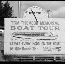 Image of 2186 - Tom Thomson Memorial Boat Tour.