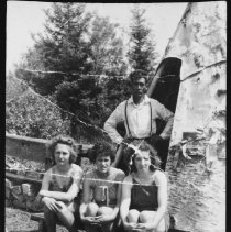 Image of 1976.10.8 - Joe Lavalley at Camp Arowhon.