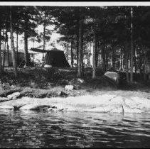 Image of 2227 - Opeongo Lake campsite.