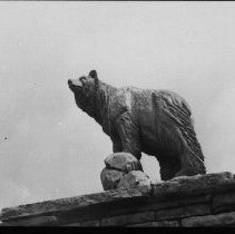 Image of 2232 - Carved Bear at West Gate.