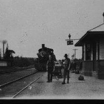 Image of 2249 - Train at Rock Lake station.