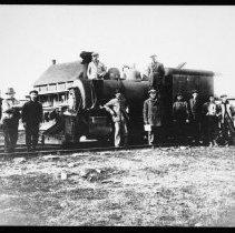 Image of 2317 - Locomotive at Whitney.