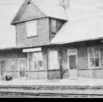 Image of Barry's Bay railway station.