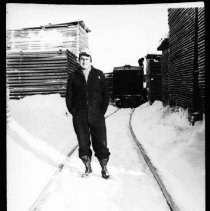 Image of 1976.26.14 - Railway siding at McRae's mill.