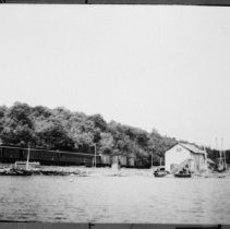 Image of 2393 - Sawmill at Brule Lake.