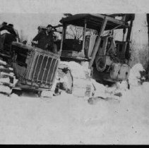Image of ca. 1930 - First tractor in the bush.