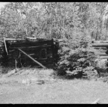 Image of Old lumber camp.