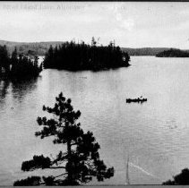 """Image of 2547 - """"A Picturesque Bit of Island Lake, Algonquin National Park."""""""