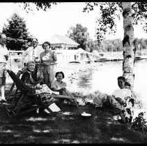 Image of George Phillips and friends.