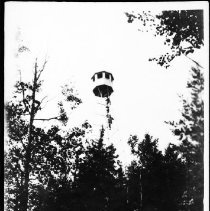 Image of Big Trout fire tower.