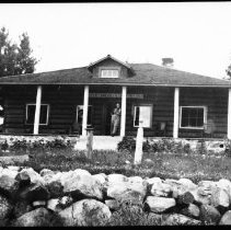 Image of The Ontario Forestry Branch cabin at Brent.