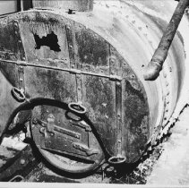 Image of Engine room boiler in the 'William M.'