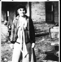 Image of 2797 - Miss Dulcey Talman at Brule Lake.