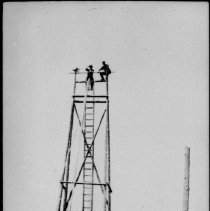 Image of 2805 - Tower for drying fire hose, Brule Lake.