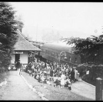 Image of ca. 1940 - Algonquin Park Station, Cache Lake.