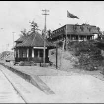 Image of 2879 - Algonquin Park Station and Highland Inn.