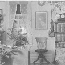 Image of Superintendent George Bartlett's office, Cache Lake.