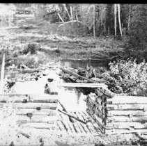 Image of 2942 - Timber chute.